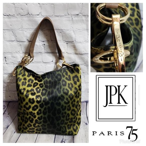 af1fde465 Bags | Jpk Paris 75 Leopard Print Shoulder Bag | Poshmark